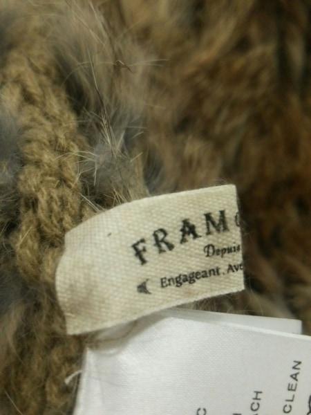 Framework(フレームワーク) マフラー美品  ブラウン スヌード ラビット