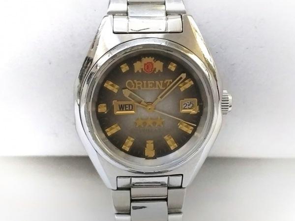 ORIENT(オリエント) 腕時計 スリースター NQIV-Q1 レディース ゴールド
