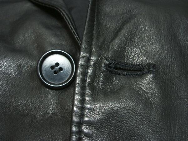 Mario Vittorio(Mario Vittorio) ジャケット サイズS メンズ 黒 レザー