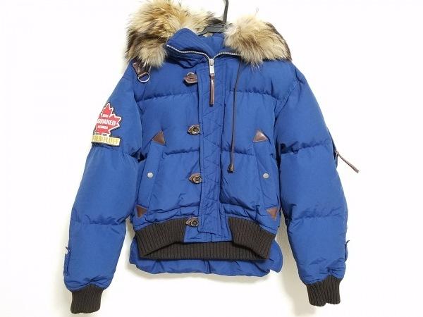 DSQUARED2(ディースクエアード) ダウンジャケット サイズ46 S メンズ 冬物/ファー