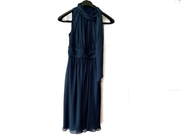 CEST LAVIE(セラヴィ) ドレス サイズ7 S レディース ネイビー