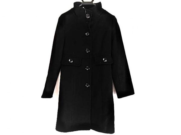 QUEENS COURT(クイーンズコート) コート サイズ1 S レディース美品  黒 冬物