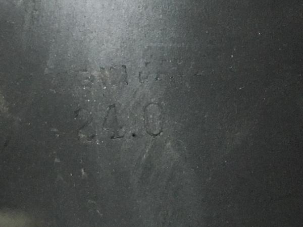 JILL STUART(ジルスチュアート) サンダル 24 レディース 黒 レザー