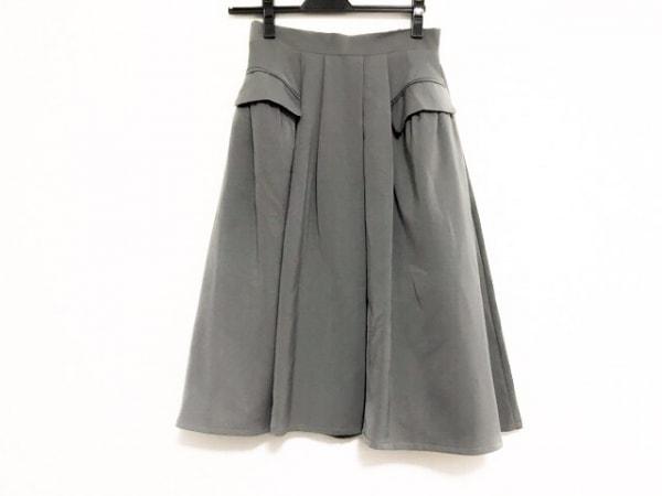 Tiaclasse(ティアクラッセ) スカート サイズM レディース美品  ダークグレー