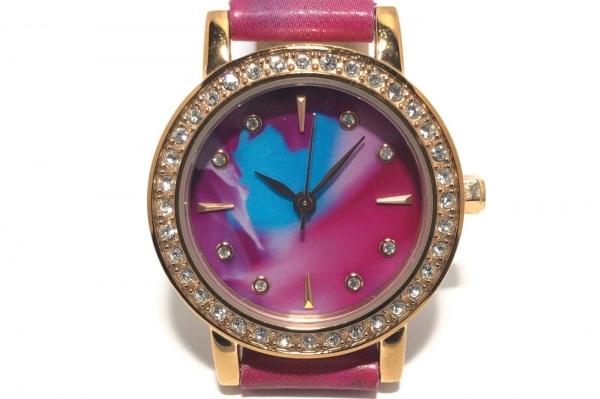 VENDOME(ヴァンドーム青山) 腕時計 - レディース ピンク×パープル×ライトブルー