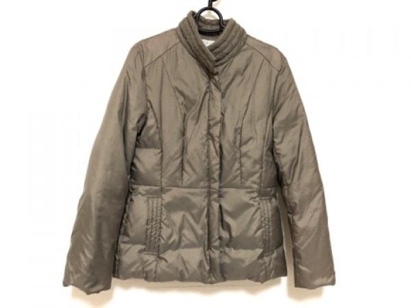 J.PRESS(ジェイプレス) ダウンジャケット サイズ11 M レディース美品  グレーベージュ