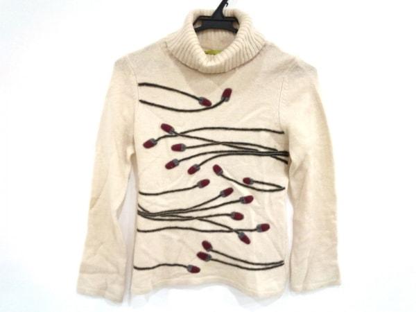 JOCOMOMOLA(ホコモモラ) 長袖セーター サイズ40 XL レディース美品  タートルネック
