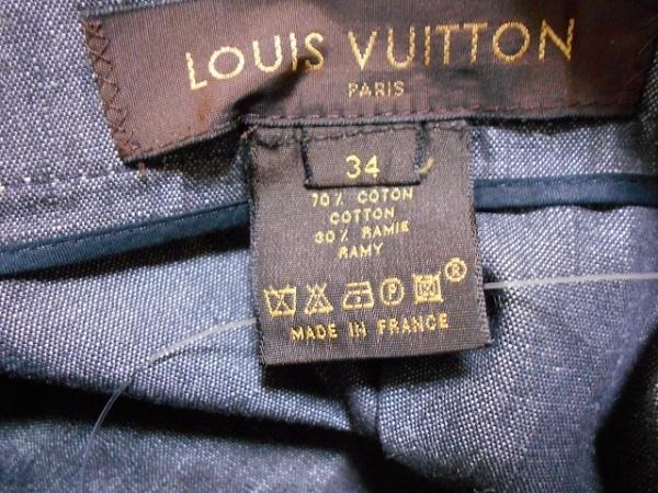 LOUIS VUITTON(ルイヴィトン) ロングスカート サイズ34 S レディース ダークグレー