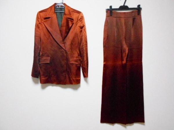 GUCCI(グッチ) レディースパンツスーツ サイズ40 M レディース ブラウン