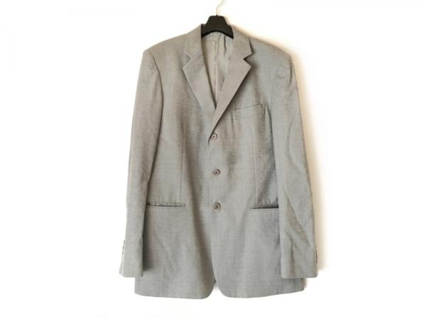 theory(セオリー) ジャケット サイズ42 L メンズ美品  ライトグレー 肩パッド