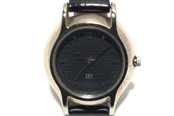 LAZY SUSAN(レイジースーザン) 腕時計 - レディース 革ベルト 黒