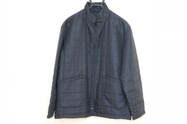 NEW YORKER(ニューヨーカー) コート サイズL メンズ 黒 冬物/キルティング