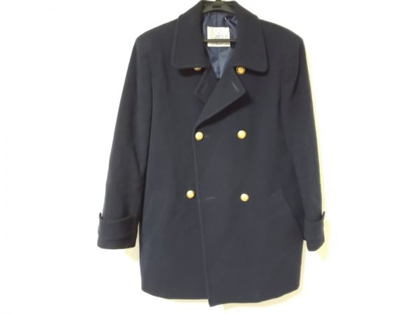 J.PRESS(ジェイプレス) Pコート サイズ11 M レディース美品  ネイビー 冬物