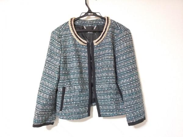 MAX&CO.(マックス&コー) ジャケット サイズ46 L レディース美品  ラメ/ラインストーン