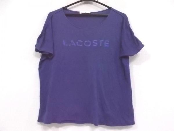 Lacoste(ラコステ) 半袖Tシャツ サイズ34 S レディース美品  パープル ラメ