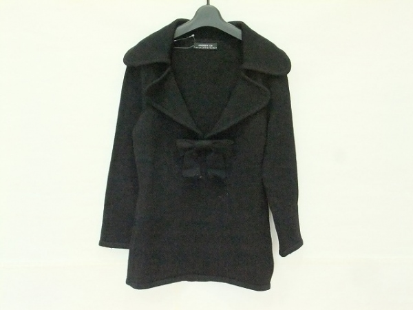 ANDREWGN(アンドリューゲン) 長袖セーター サイズXL レディース 黒 リボン