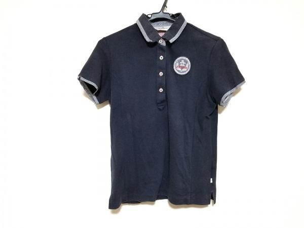 Munsingwear(マンシングウェア) 半袖ポロシャツ サイズL レディース ネイビー