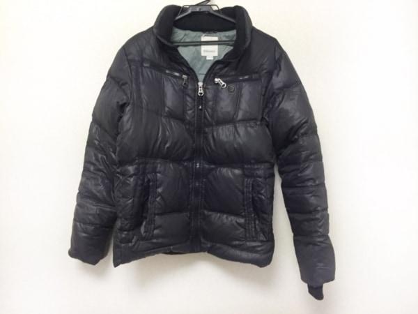 DIESEL(ディーゼル) ダウンジャケット サイズXL メンズ美品  黒 冬物