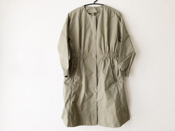 MACPHEE(マカフィ) コート サイズ38 M レディース美品  カーキ 春・秋物