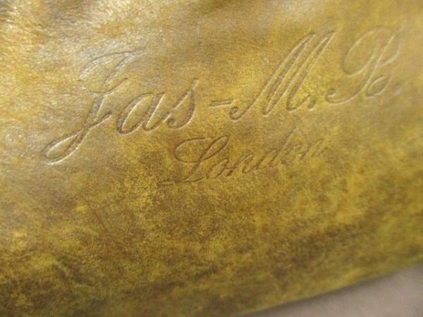 JAS M.B.(ジャスエムビー) ショルダーバッグ ダークブラウン レザー