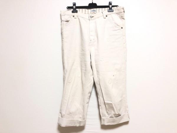 ETERNAL(エターナル) パンツ サイズ34 S レディース ベージュ デニム/ダメージ加工