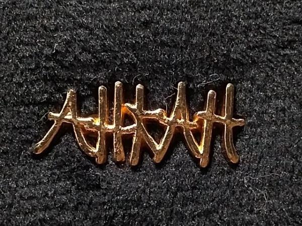 AHKAH(アーカー) 長財布美品  黒 化学繊維