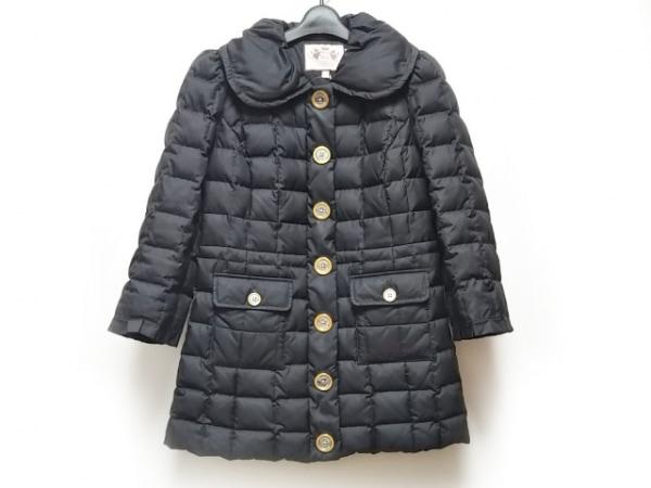 ジューシークチュール ダウンコート サイズS レディース 黒 冬物/キルティング/中綿