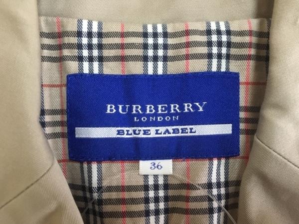 バーバリーブルーレーベル ジャケット サイズ36 S レディース サンドブラウン