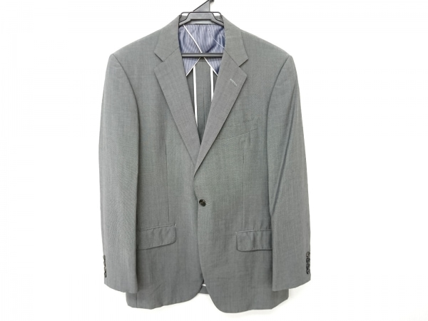 ティモシーエベレスト ジャケット サイズABL メンズ ライトグレー 肩パッド