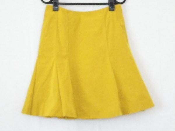 ESTNATION(エストネーション) ミニスカート サイズ38 M レディース イエロー