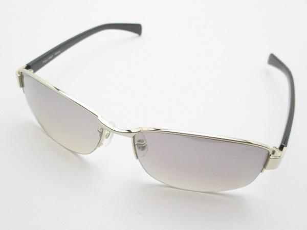 POLICE(ポリス) サングラス SPL272J グレー×シルバー×黒 プラスチック×金属素材