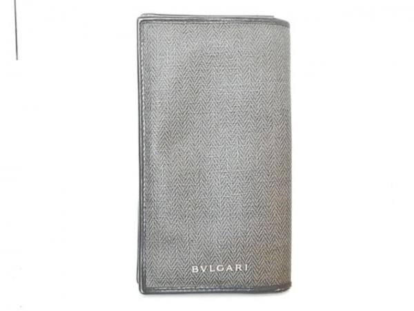 fe9015f28b5a ブルガリ 長財布 ウィークエンド ダークグリーン×黒 PVC(塩化ビニール)×レザー