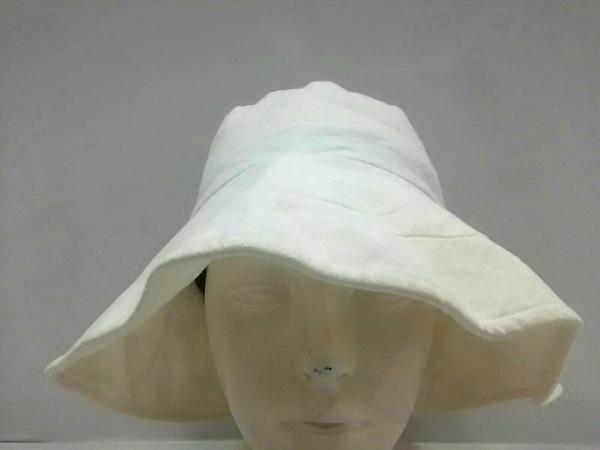 KENZO(ケンゾー) ハット L美品  アイボリー コットン