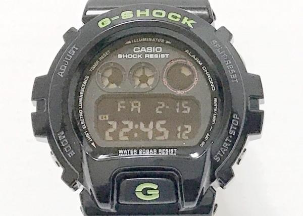 CASIO(カシオ) 腕時計美品  G-SHOCK DW-6900SN ボーイズ ラバーベルト 黒
