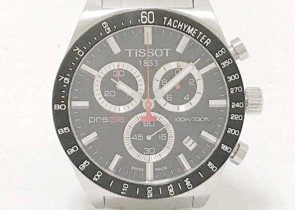 TISSOT(ティソ) 腕時計 PRS516 T044417A メンズ クロノグラフ 黒