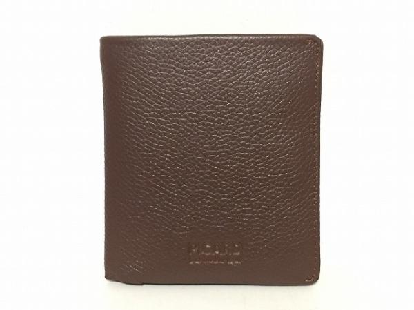 PICARD(ピカード) 2つ折り財布 ブラウン レザー