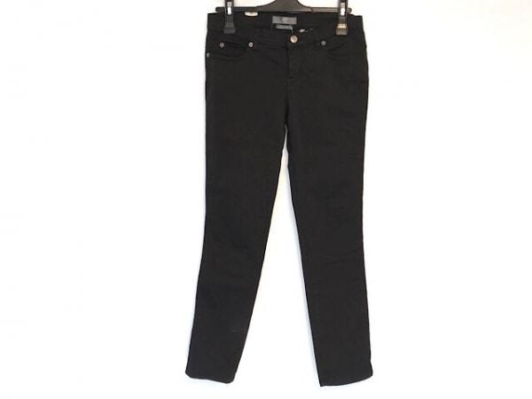 マックキュー(アレキサンダーマックイーン) パンツ サイズ25 XS レディース美品  黒