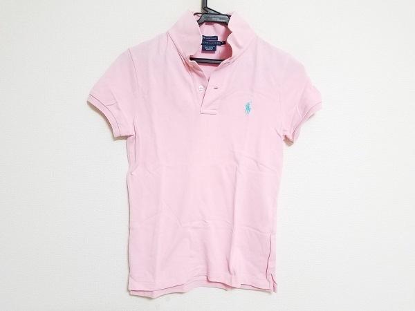 ラルフローレン 半袖ポロシャツ サイズM レディース ピンク THE SKINNY POLO