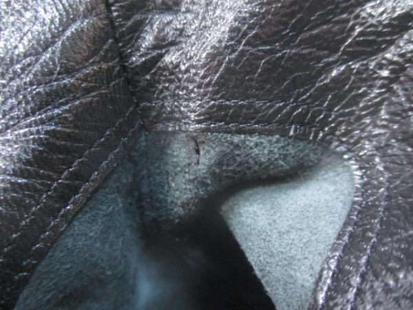 ブルーノマリ ロングブーツ 34 1/2 レディース 黒 レザー 7