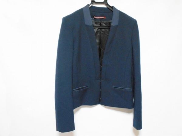 コントワーデコトニエ ジャケット サイズ40 M レディース美品  ダークネイビー