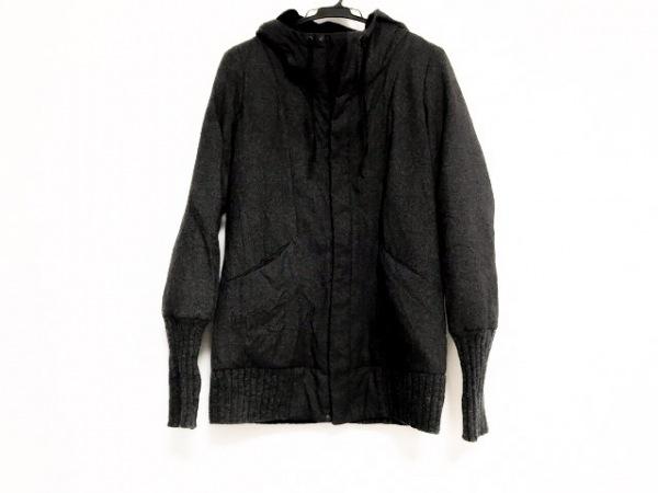 パドカレ ダウンコート サイズ38 M レディース美品  ダークグレー 冬物