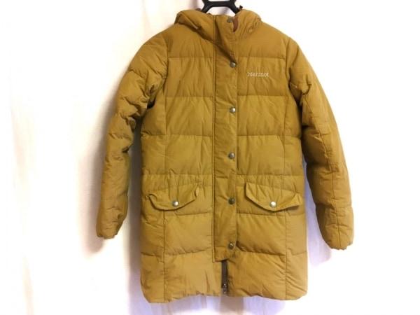 Marmot(マーモット) ダウンコート サイズS レディース美品  ベージュ 冬物