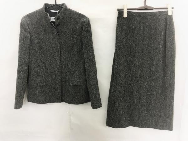 Max Mara(マックスマーラ) スカートスーツ サイズ40 M レディース美品  黒×白