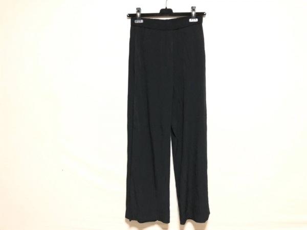 NOKO OHNO(ノコオーノ) パンツ サイズ38 M レディース 黒 ウエストゴム/プリーツ