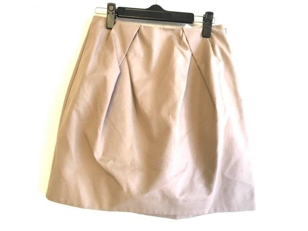 YOKO CHAN(ヨーコ チャン) スカート サイズ40 M レディース美品  ベージュ