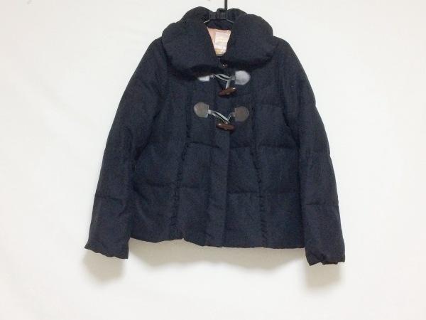 MINIMUM(ミニマム) ダウンコート サイズ2 M レディース 黒 冬物/ショート丈