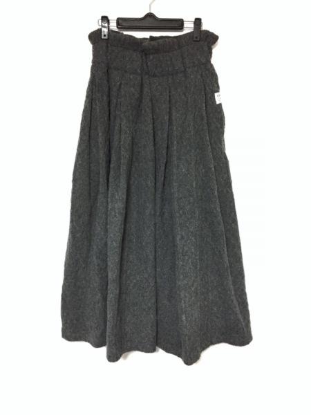 s'yte(サイト) ロングスカート レディース美品  ダークグレー