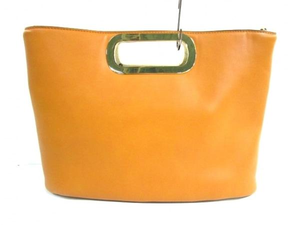 PLS+T(PLST)(プラステ) トートバッグ美品  ブラウン 合皮