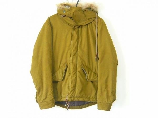 EDIFICE(エディフィス) ダウンジャケット サイズ44 L レディース カーキ 冬物