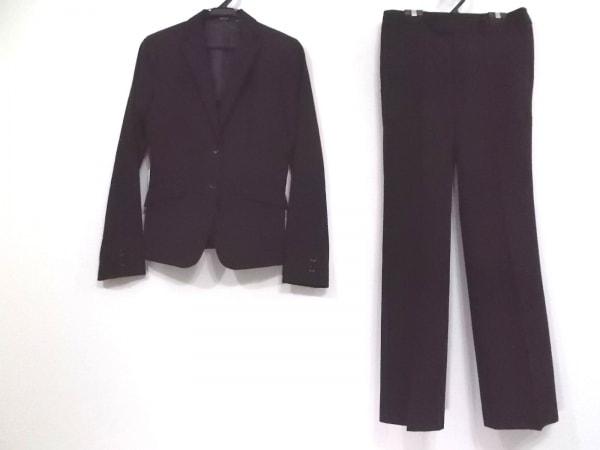 COMME CA ISM(コムサイズム) レディースパンツスーツ サイズM レディース 黒